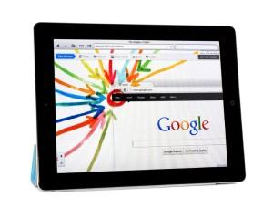 Apple Ipad2 with Google+ Project