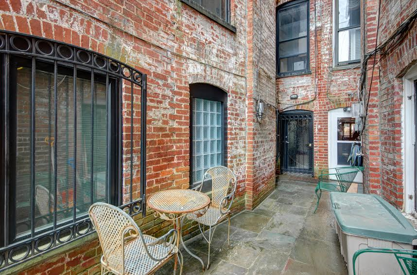 brick patio   2 bedroom apartment available in Adams Morgan   Northwest DC. Exposed Brick DC Exclusive 2 Bedroom Apartment Listing   Apartminty