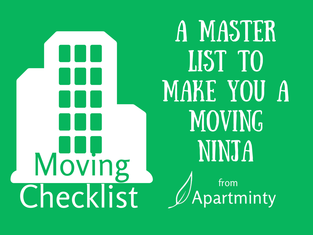 Keep Your Sanity During Your Move With This Essential Moving Checklist