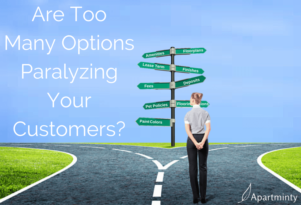 Are Too Many Options Paralyzing Your Customers?