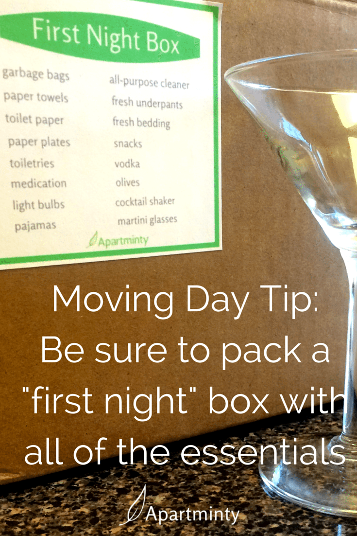 Moving Into Your First Apartment | What You Want To Pack In Your