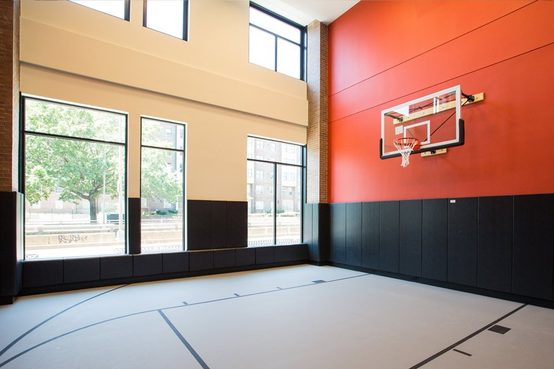 2m Street Luxury Pet Friendly Apartments For Rent In Noma Indoor Basketball Court