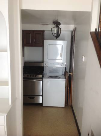 Capitol Hill One Bedroom Carriage House For Rent | Washer and Dryer in Unit
