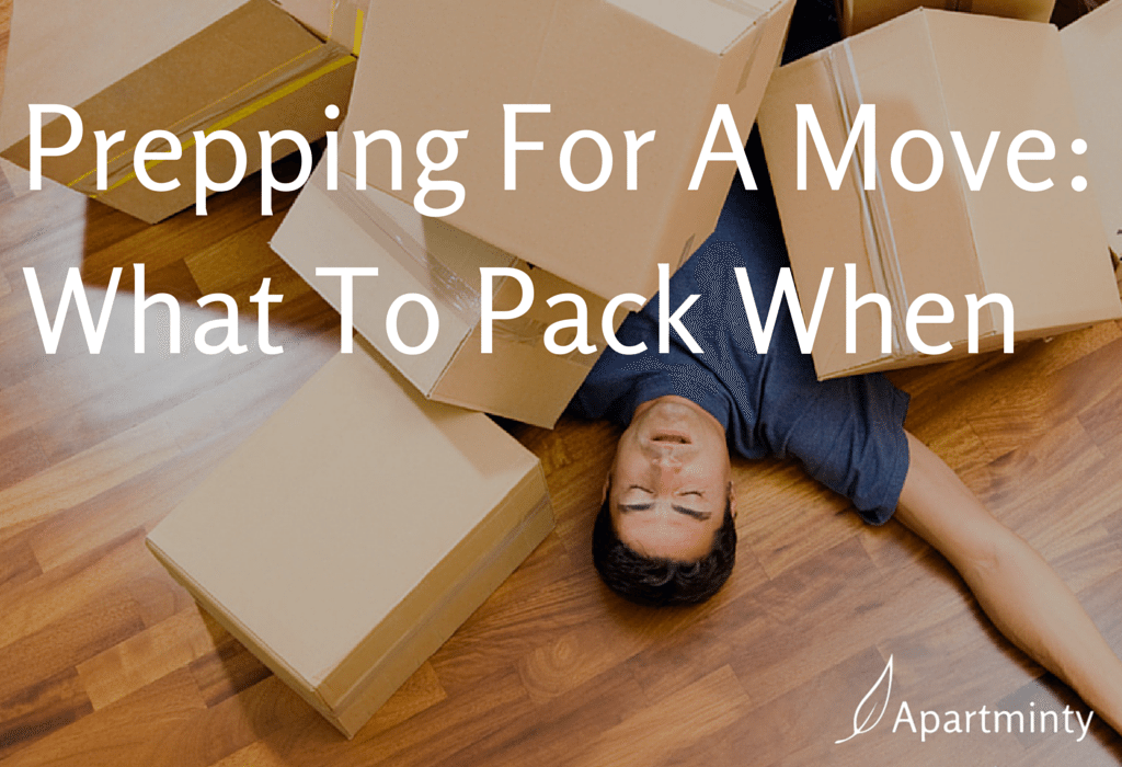 Prepping for a Move: What to Pack When