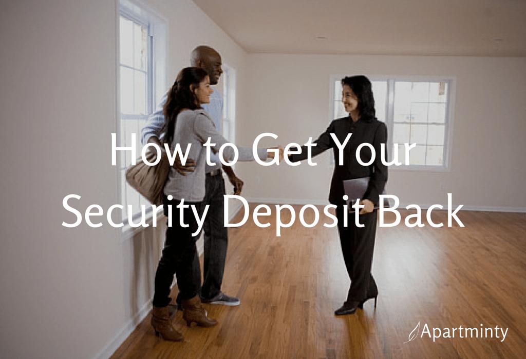 Get Your Security Deposit Back