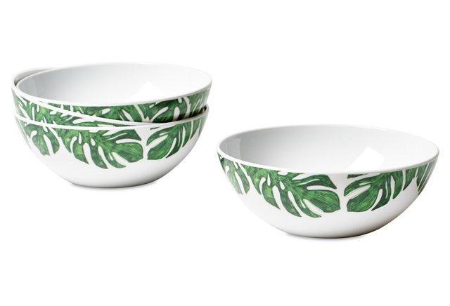 Apartminty Fresh Picks | Melamine Palm Bowls