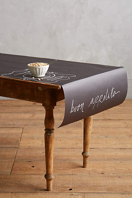 Eat Drink and Be Merry | Chalkboard Table Runner