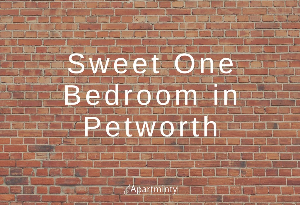 Sweet One Bedroom in Petworth