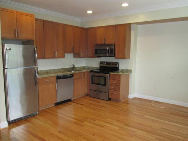 Truly Pet Friendly Apartment in Petworth   Kitchen with Stainless Steel Appliances