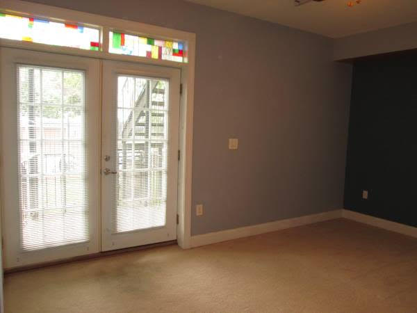Truly Pet Friendly Apartment in Petworth   French Doors with Stained Glass