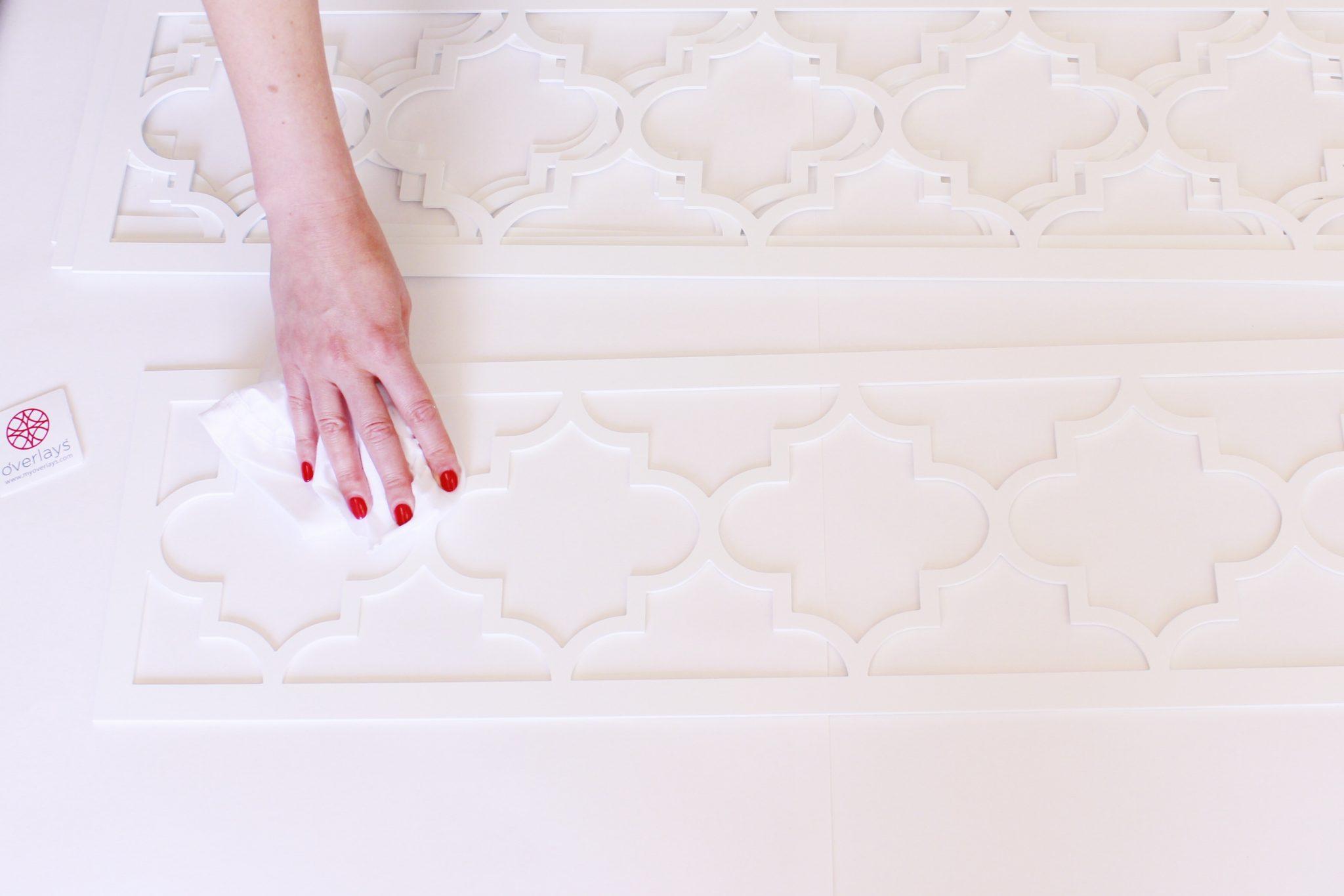 DIY Ikea Dresser Hack | Wipe Down O'verlays With Rubbing Alcohol