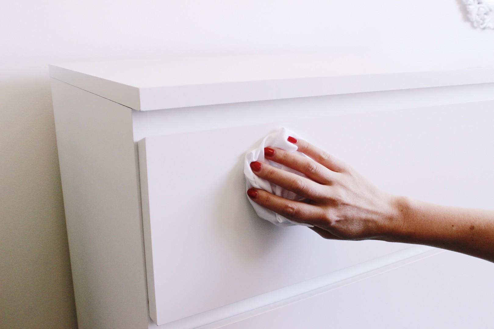 Ikea Dresser Hack DIY Project | Wipe Down Dresser