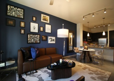 City Place Midtown: Living Room