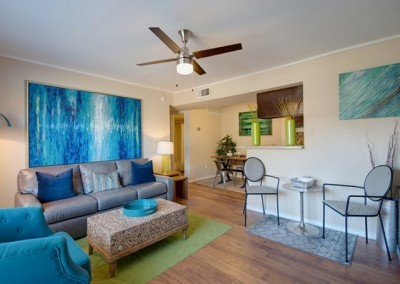 The Wilcox Apartments: Living Room