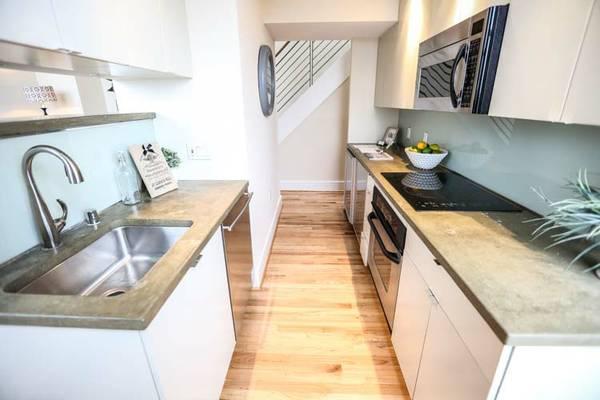 Sophisticated H Street 2 Bedroom | Kitchen
