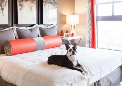Camden Post Oak Apartments: Bedroom