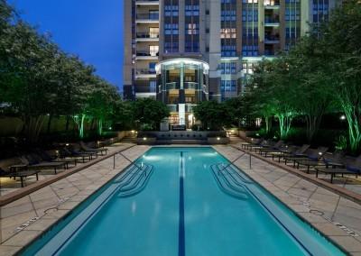 Camden Post Oak Apartments: Pool