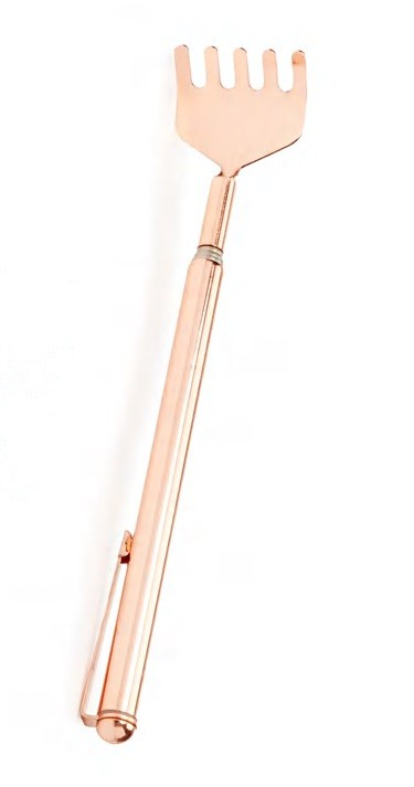 Bronze Back Scratcher | Emergency Gifts to Keep on Hand This Holiday Season