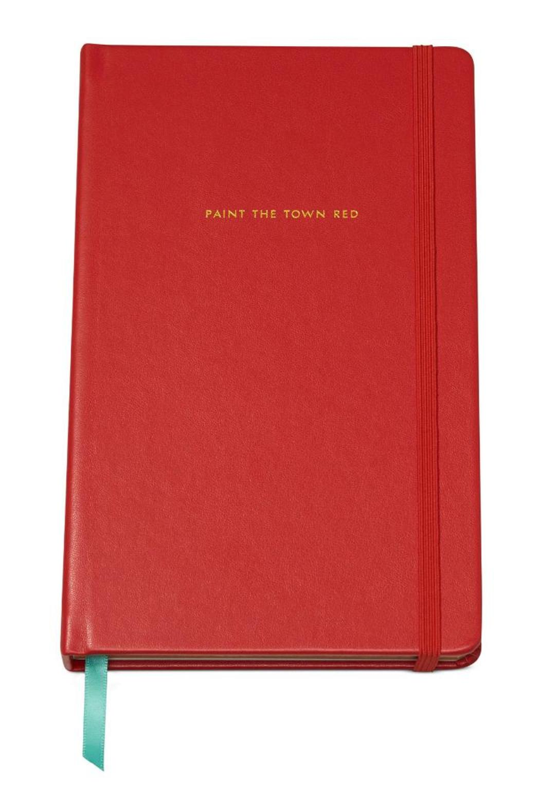 Kate Spade Paint The Town Red Notebook | Emergency Gifts to Have on Hand This Holiday Season