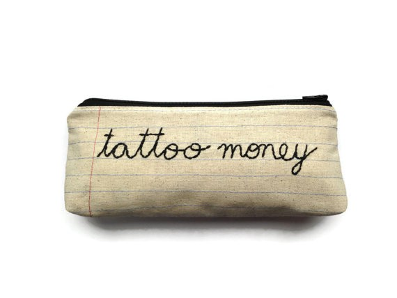 Holiday Gift Guide: Playful Presents | Tattoo Money Pouch
