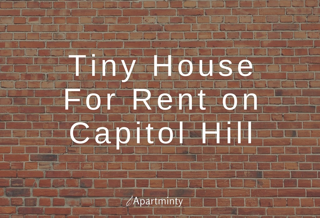 Tiny House For Rent On Capitol Hill
