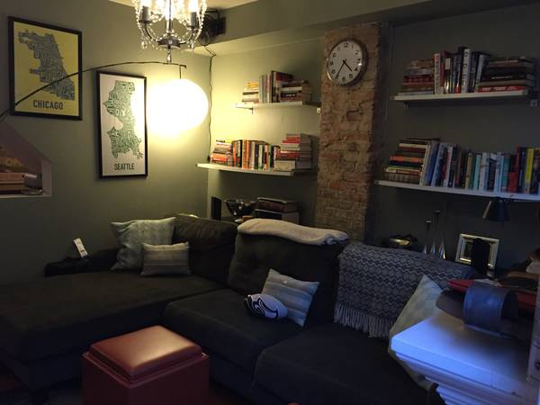 Small But Stylish U Street Row House | Washington DC Apartments For Rent | Living Room