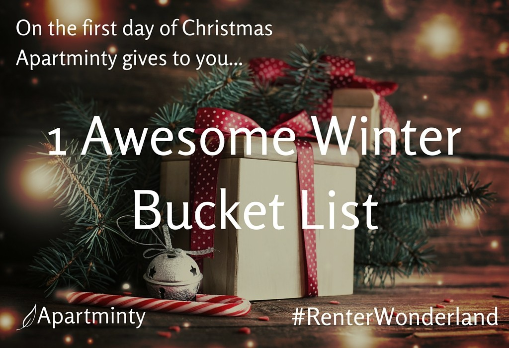 Renter Wonderland: First Day of Christmas