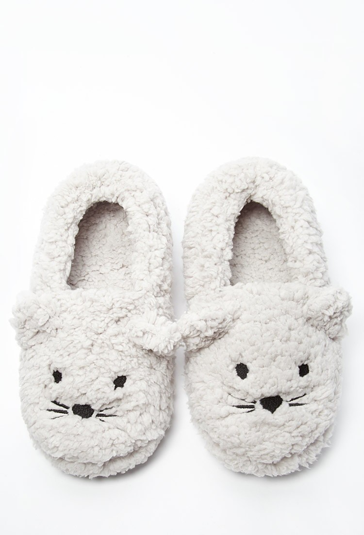 Apartminty Fresh Picks: Warm Winter Picks | Mouse Face Plush Slippers