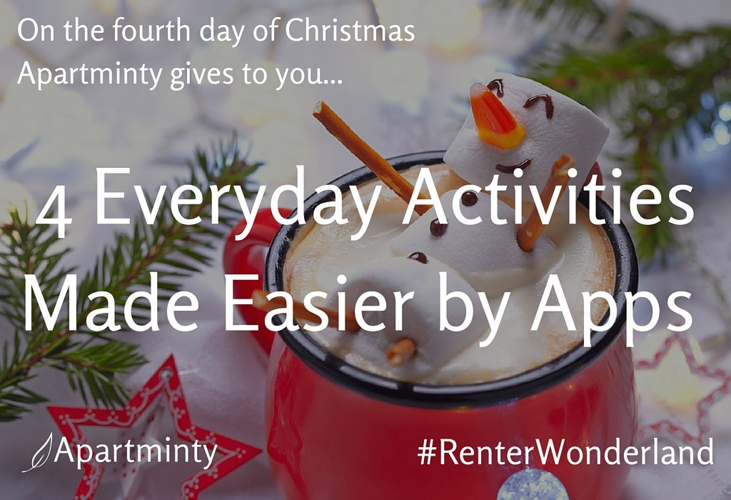 Renter Wonderland: 4th day of Christmas