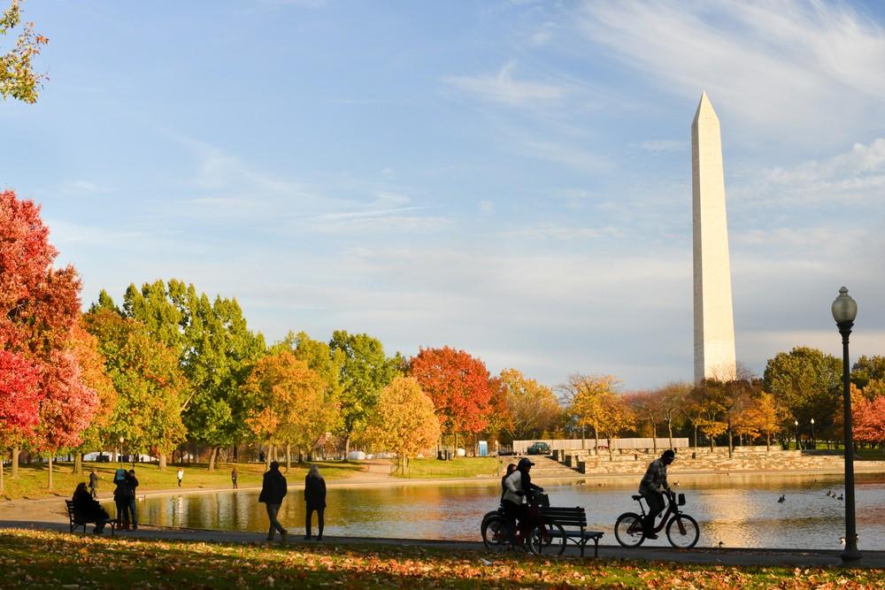 Washington DC: National Mall Biking