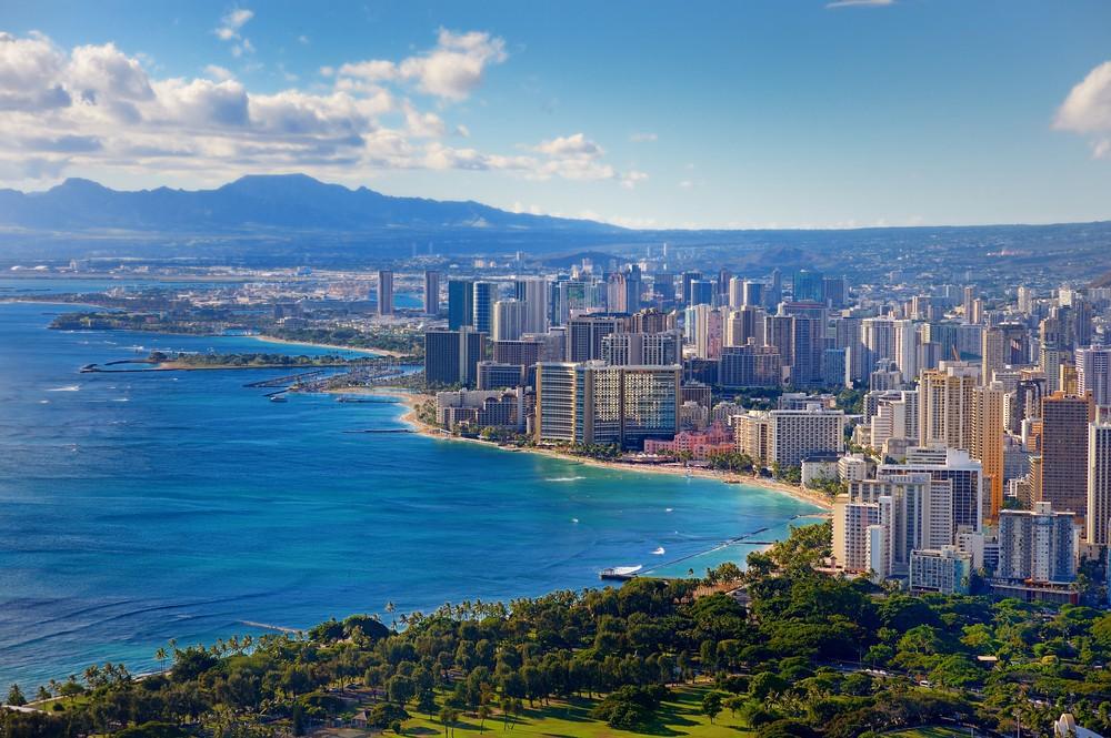 Honolulu: View from Diamond Head