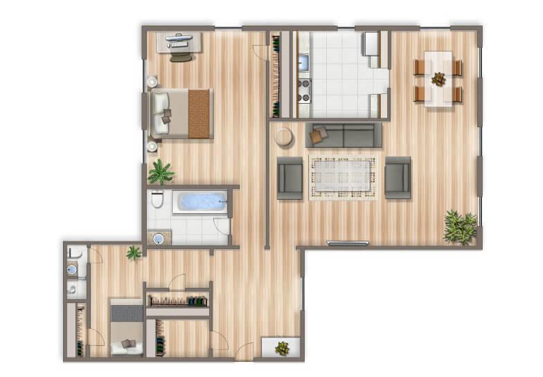 Woodley_Park_Apartments_2BR-791x1024