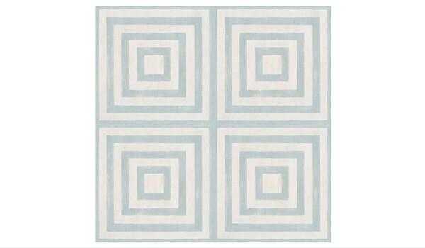 Temporary Rental Decor | Concentric Peel & Stick Floor Tile