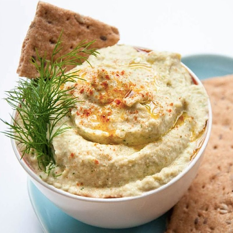 Our Favorite Spring Recipes | Cucumber Hummus With Dill