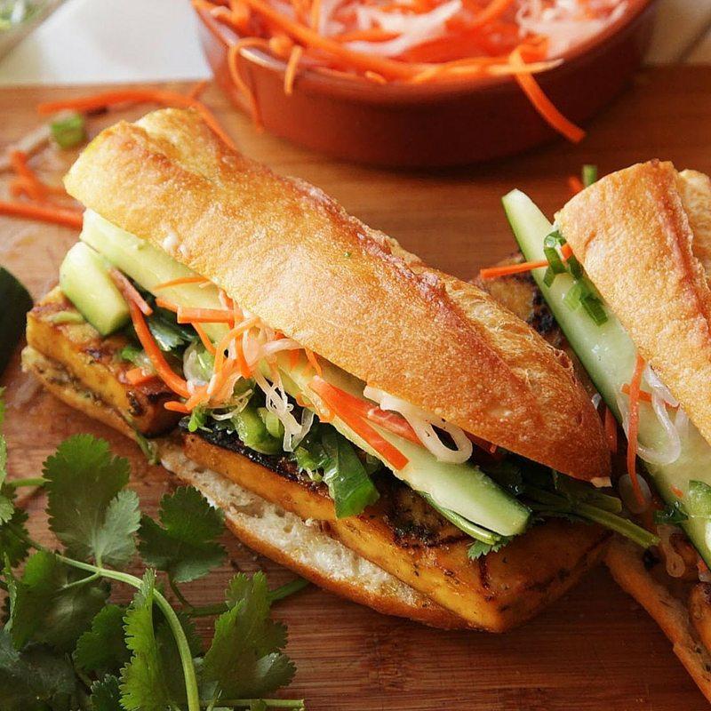 Our Favorite Spring Recipes | Tofu Banh Mi