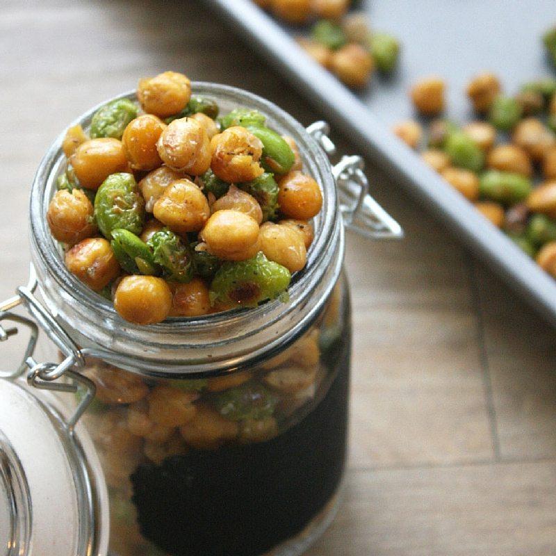 Our Favorite Spring Recipes | Crispy Chickpeas and Edamame