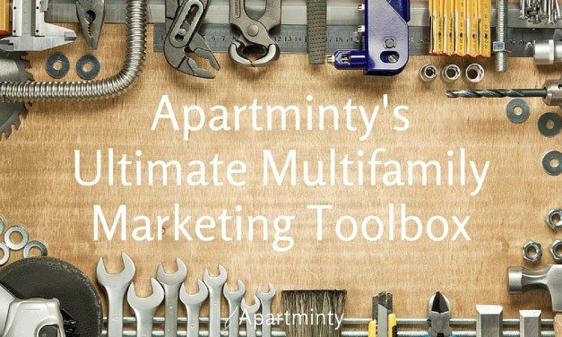 Apartminty's Ultimate Multifamily Marketing Toolbox