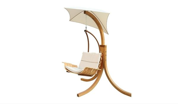 Apartminty Fresh Picks: Furnish Your Apartment Balcony For Summer | Swing Chair With Umbrella