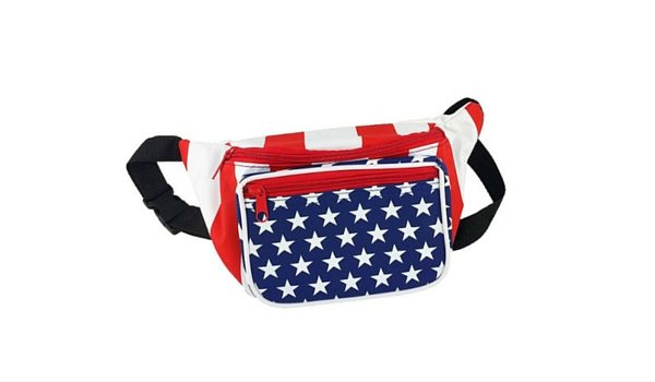 Apartminty Fresh Picks: Fourth of July Accessories | American Flag Fannie Pack