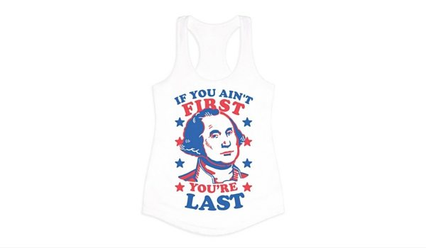 Apartminty Fresh Picks: Fourth of July Accessories | If You Ain't First, You're Last George Washington Tank