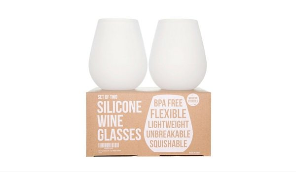 Apartminty Fresh Picks: Pool Accessories | Silicone Stemless Wine Glasses
