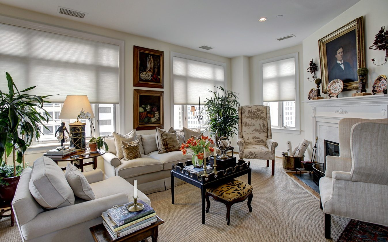 Luxury Apartments in Washington, DC | 2401 Pennsylvania Ave Residences | Living Room