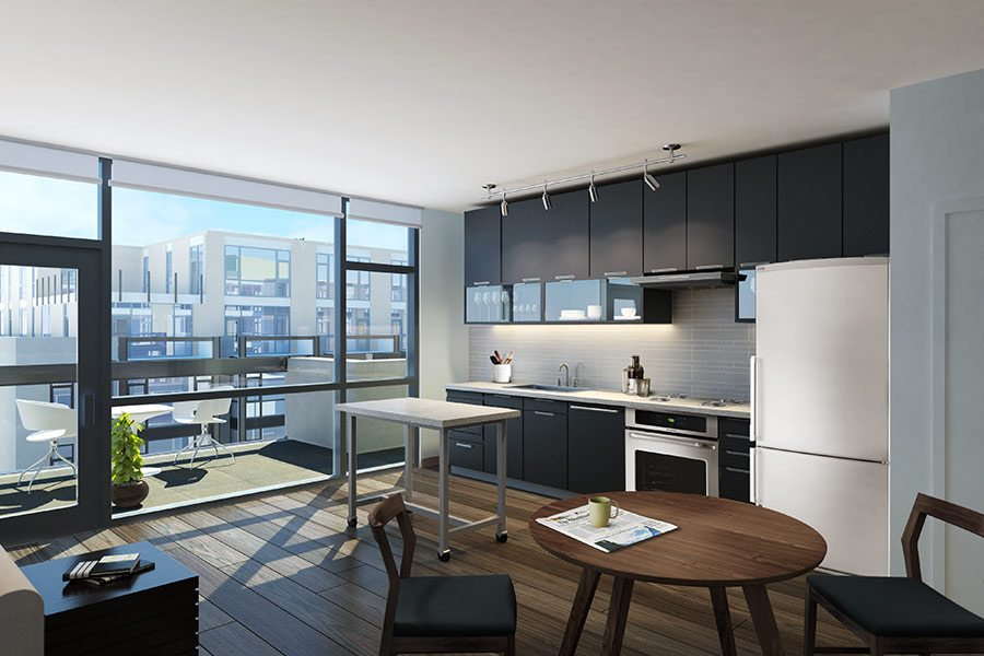 Best Apartment Kitchens in DC | The Shay | Luxury Apartments in Shaw,  Washington DC