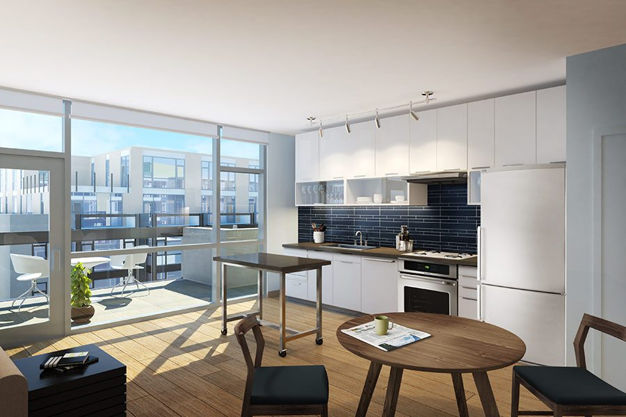 Best Apartment Kitchens In Dc The Shay Luxury Apartments Shaw Washington