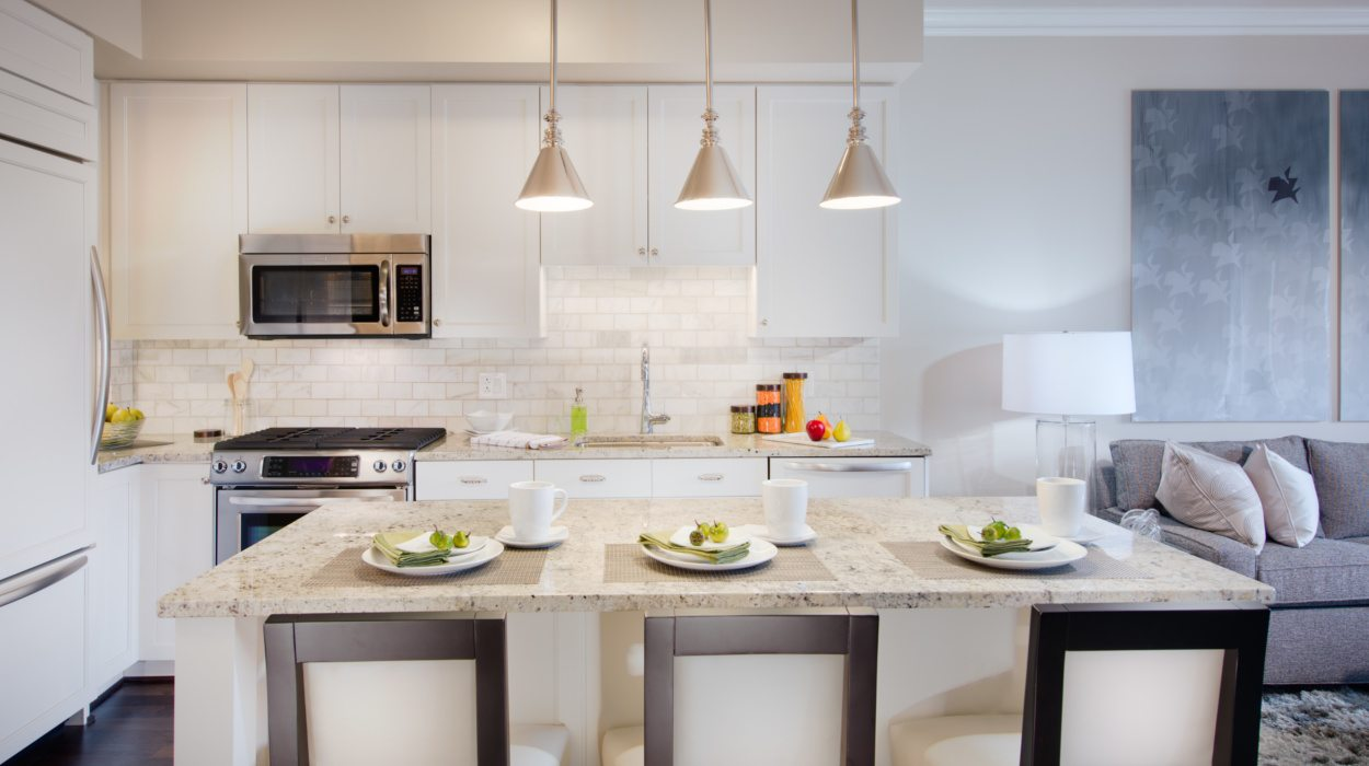 The 5 best apartment kitchens in dc apartminty for Gourmet kitchen island