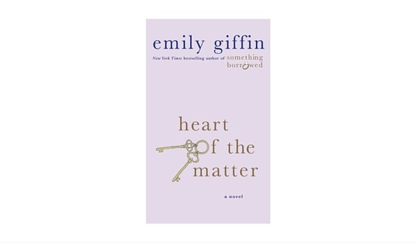 Apartminty Fresh Picks: Easy Breezy Summer Reads | Heart Of The Matter by Emily Giffin