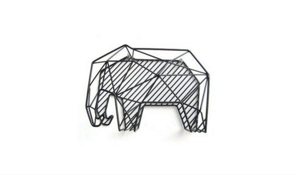 Apartminty Fresh Picks: Kick The Clutter In Your Apartment With These Mail Organizers   Kikkerland Elephant Mail Organizer