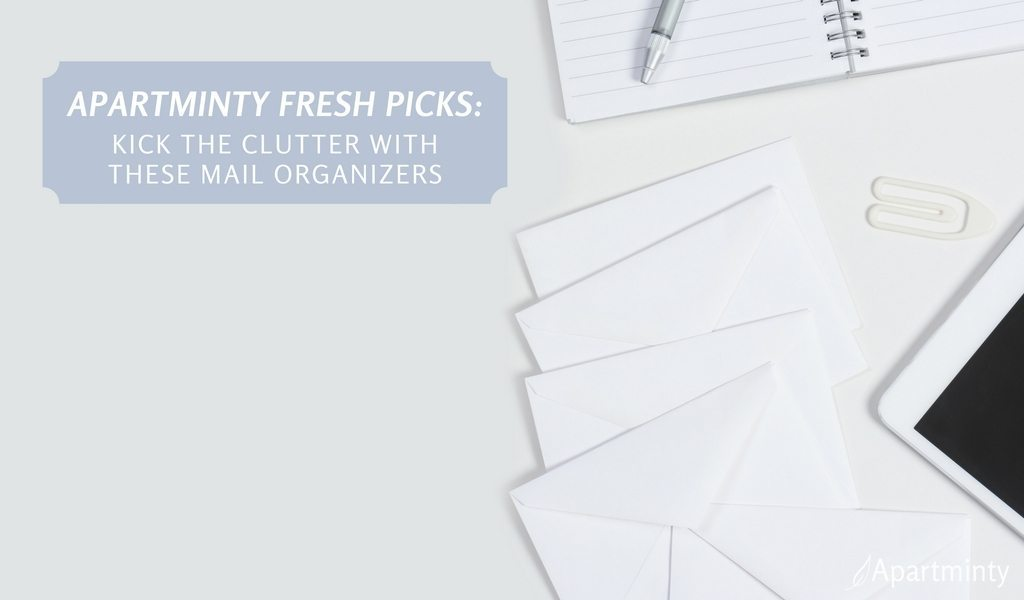 Apartminty Fresh Picks: Kick The Clutter In Your Apartment With These Mail Organizers