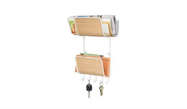 Apartminty Fresh Picks: Kick The Clutter In Your Apartment With These Mail Organizers   Two Tier Entryway Organizer