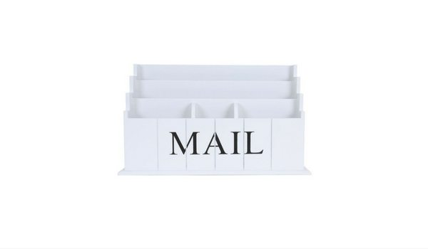 Apartminty Fresh Picks: Kick The Clutter In Your Apartment With These Mail Organizers   Blu Monaco Desk Top Mail Organizer